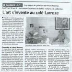 Exposition à Caubios-Loos - avril 2006