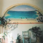 ouverture sur la mer dans un hall d'entrée - Venterol , drôme