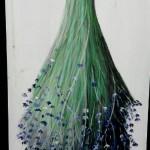 panneau bouquet lavande boutique Lyon