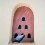 pigeonnier 2 (trompe l'oeil) dans la drôme