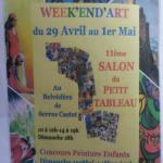 Week'End'Art, au belvédère de Serres Castet
