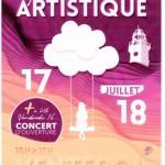 parcours artistique juillet 2021 à VENTEROL